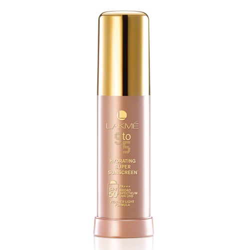 Lakme 9 to 5 Hydrating Super Sunscreen + SPF 50 PA+++