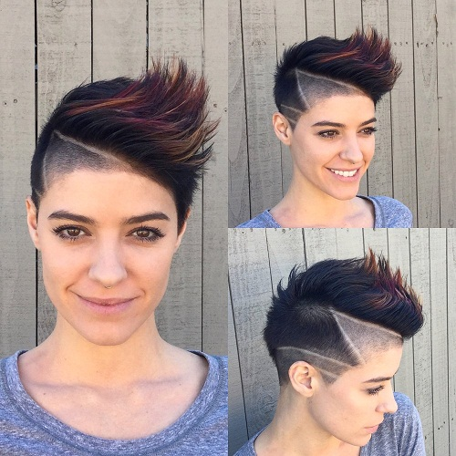 Super 12 Latest Mohawk Hairstyles For Modern Women Styles At Life Schematic Wiring Diagrams Amerangerunnerswayorg