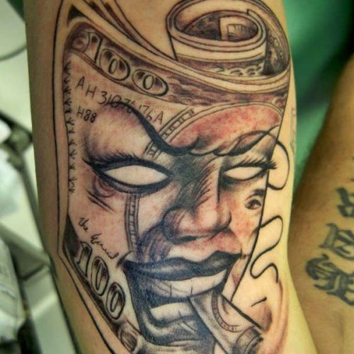 Money tattoo Designs 1