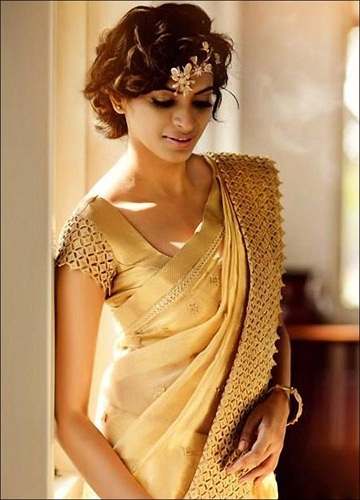 Pattu Saree Blouse Designs 10