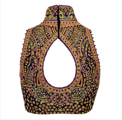 Pattu saree blouse designs Rajasthani window