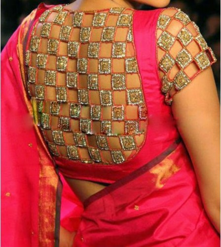 15 Best Pattu Saree Blouse Designs With Pictures Styles