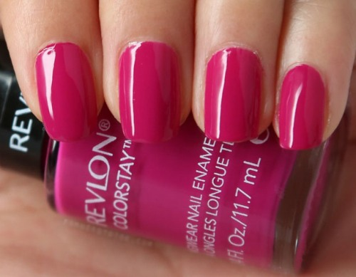Pink Nail polishes raspberry pink