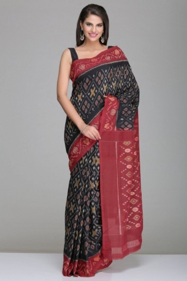 Pochampally cotton sarees Mix and match patterns