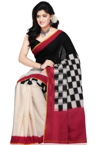Pochampally cotton sarees checks