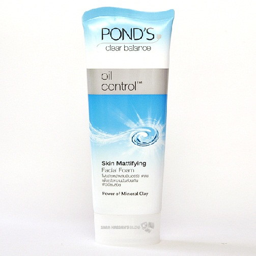 Ponds Clear Balance oOil Control Facial Foam