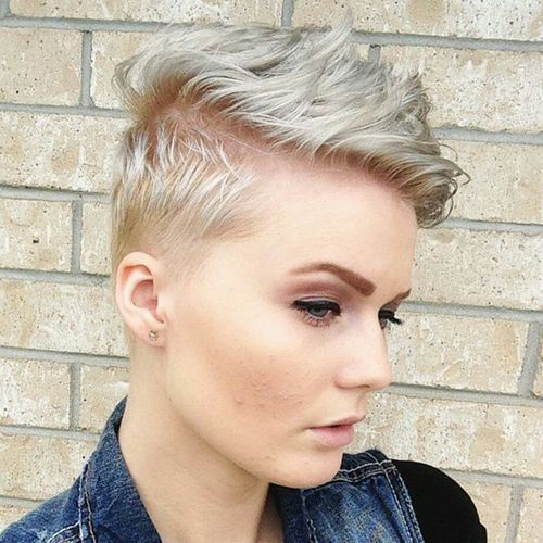 how to style pixie cut fine hair