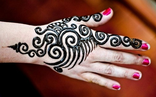 Mehndi Easy Design : Simple and easy mehndi designs for beginners with images