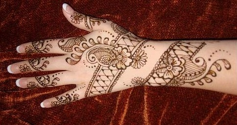 Easy Single Hand Mehandi