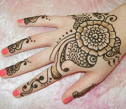 Simple And Easy Mehandi Designs 67