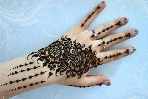 Simple And Easy Mehndi Designs For Beginners 54