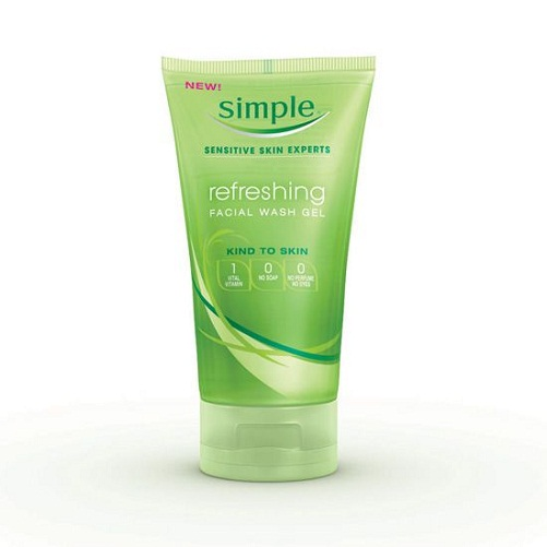 Simple Sensitive Skin Experts Refreshing Facial Wash Gel