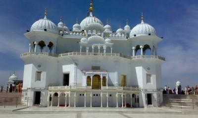 Takht Sri Damdama Sahib in Punjab