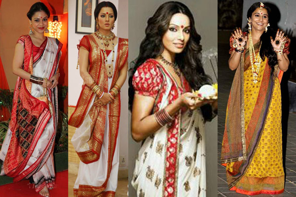 Unique ways to wear a saree 3