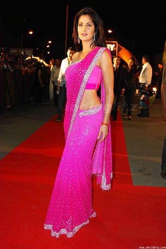Unique ways to wear a saree 7