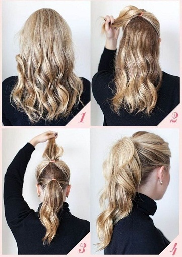 Tremendous Top 9 Easy Everyday Hairstyles Styles At Life Short Hairstyles Gunalazisus
