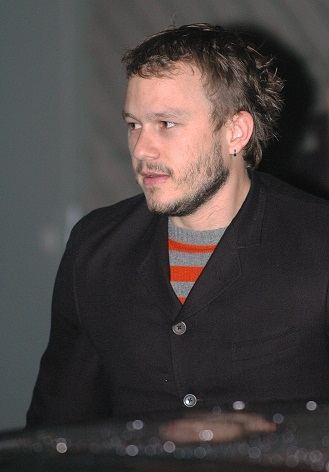 At the berlin film festival Heath Ledger was spotted looking ...