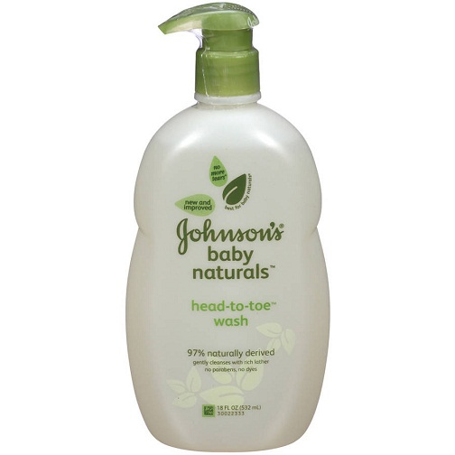 johnson new baby shampoo