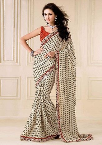 types of sarees 12