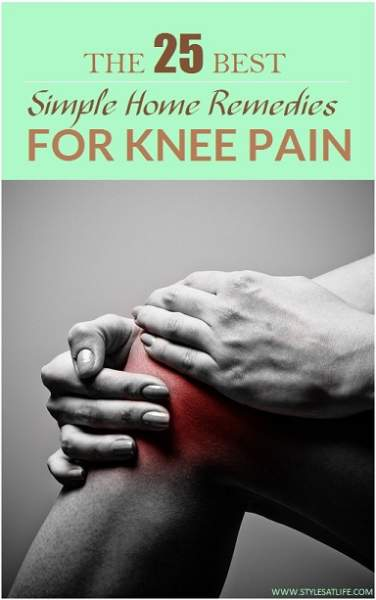 25 Simple Home Remedies for Knee Pain