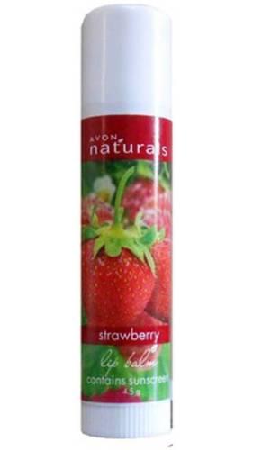 Avon naturals strawberry lip balm
