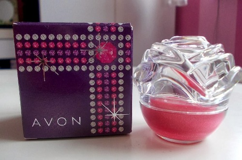 Avon rose kiss lip balm