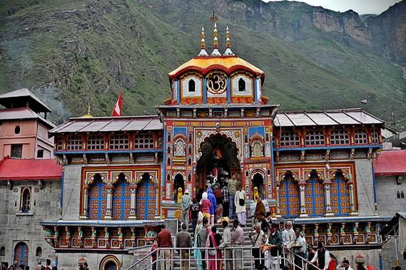 Badrinath Temple in Badrinath, Uttarakhand
