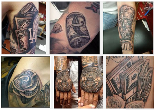 money tattoo designs