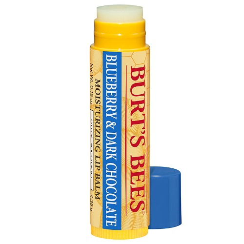 Burt s Bees blueberry and dark chocolate lip balm