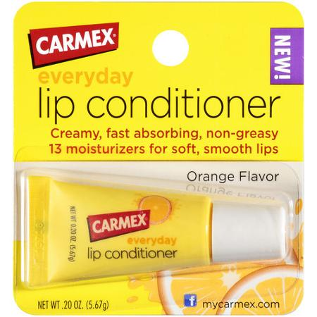 Carmex lip conditioner orange flavor