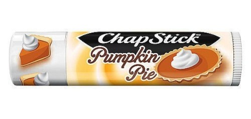 Chapstick pumpkin pie lip balm