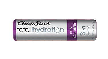 Chapstick wild acai berry 3-in 1 lip balm