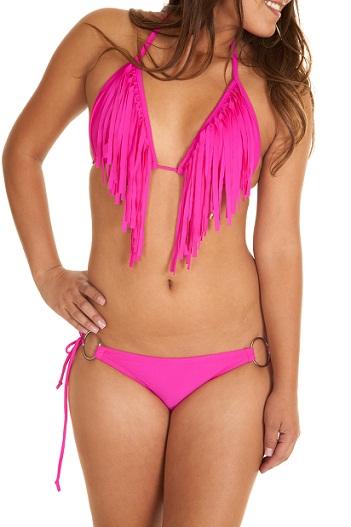 Fringe swimwear