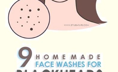 Homemade Face Washes for Blackheads