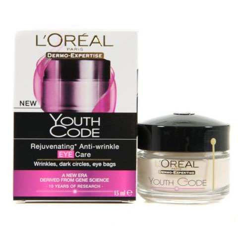 L Oreal Paris youth code eye cream