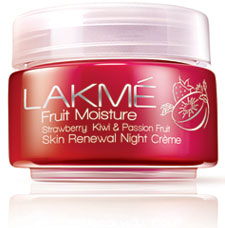 LakmeFruit Moisture Strawberry Kiwi and Passion Night Cream