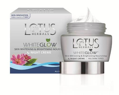 Lotus white glow night cream