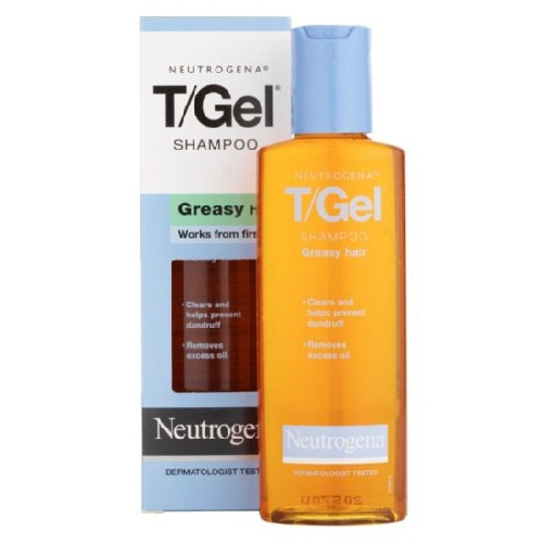 Neutrogena T-Gel Greasy hair shampoo