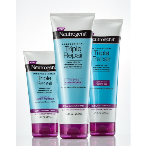 Neutrogena triple repair fortifying shampoo