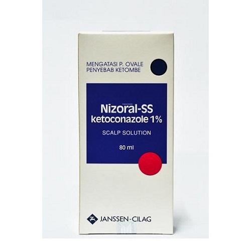Nizoral SS- ketoconazole 2 scalp solution