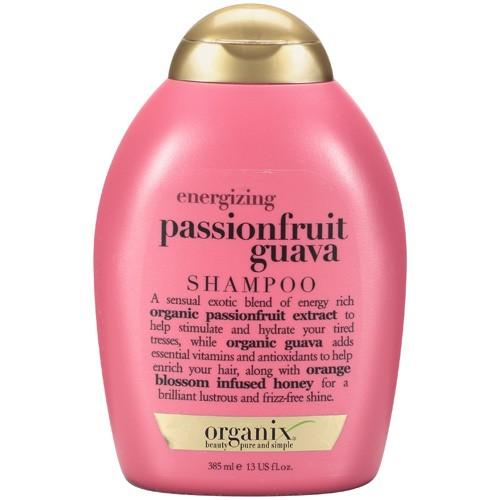 Organix energizing passionfruit guava shampoo