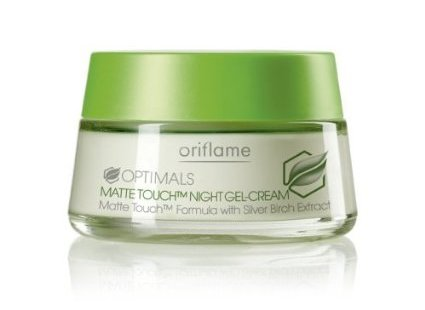 OriflameOptimals Matte Touch Night Gel-cream