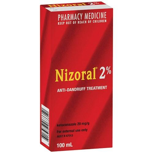 Pharmacy medicine nizoral 2 anti-dandruff shampoo