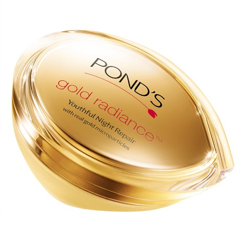Ponds gold radiance youthful night repair cream