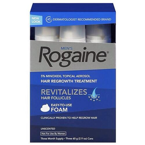 Rogaine Men hair regrowth treatment