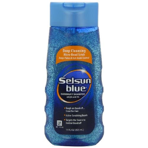 Selsun Blue Deep Cleansing Micro Bead Scrub Shampoo