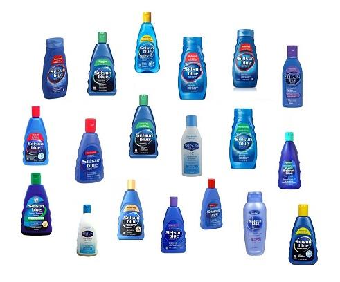 Selsun Blue Shampoos