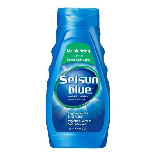 Selsun blue dandruff moisturizing shampoo with aloe