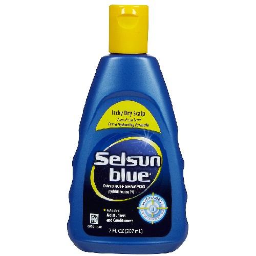Selsun blue itchy dry scalp shampoo