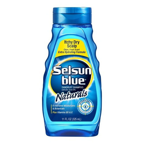 Selsun blue naturals dry scalp shampoo